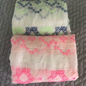 American Eagle Outfitters Accessories - 2- American Eagle infinity Scarves